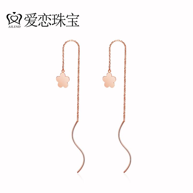 红绳耳线的编法图解
