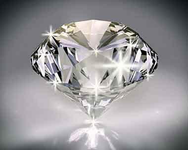 圆形钻石手绘图